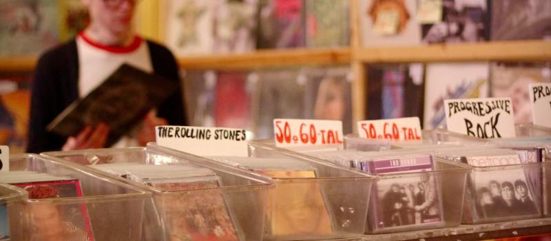 köper cd skivor
